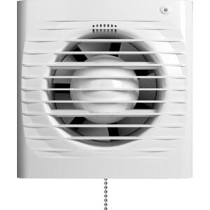 Вентилятор Era осевой вытяжной с антимоскитной сеткой индикацией работы таймером и тяговым выключателем D100 (ERA 4S ET-02)
