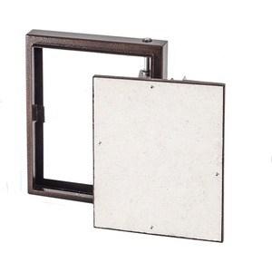 Люк EVECS под плитку на петле окрашенный металл 400х400 (D4040 ceramo steel)