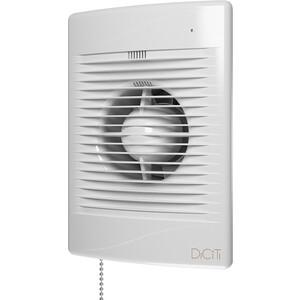 Вентилятор DiCiTi осевой вытяжной с индикацией работы таймером и тяг.выкл. D125 (STANDARD 5ET-02) цена 2017