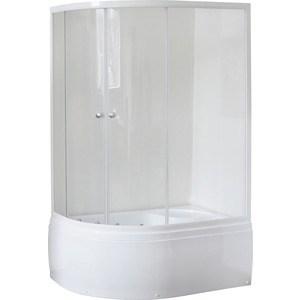Душевой уголок Royal Bath BK 120x80x200 прозрачное, правый (RB8120BK-T-R) душевой уголок royal bath 120 80 200 стекло прозрачное правый rb8120bp t r