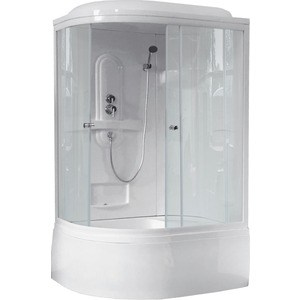 Душевая кабина Royal Bath BK1 120х80х217 прозрачная, правая (RB8120BK1-T-R) душевая кабина timo t 1110 r 110х85х220 см правая