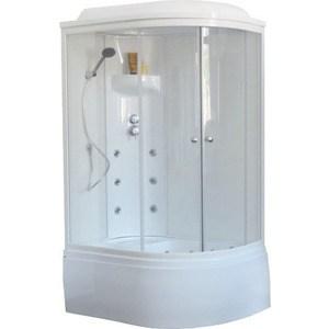 Душевая кабина Royal Bath BK3 120х80х217 стекло белое/прозрачное, левая (RB8120BK3-WT-L)
