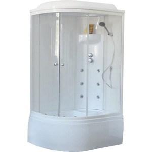 Душевая кабина Royal Bath BK3 120х80х217 стекло белое/прозрачное, правая (RB8120BK3-WT-R)