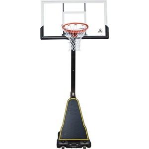 Баскетбольная мобильная стойка DFC STAND54P2 136x80 см поликарбонат