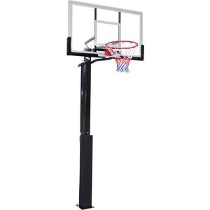 Баскетбольная стационарная стойка DFC ING50A 127x80 см акрил