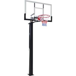 Баскетбольная стационарная стойка DFC ING56A 143x80 см акрил