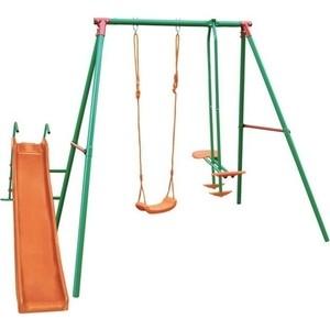 Детский комплекс с горкой DFC MSN-02 (качели)