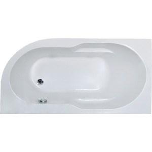 Акриловая ванна Royal Bath Azur 160х80 левая, с каркасом (RB 61 4202L, RB 4202K)