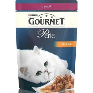 Паучи Gourmet Perle Mini Fillets с уткой для кошек 85г (12222486)