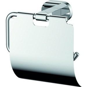 Держатель туалетной бумаги Kaiser Gerade с крышкой, хром (KH-2010)