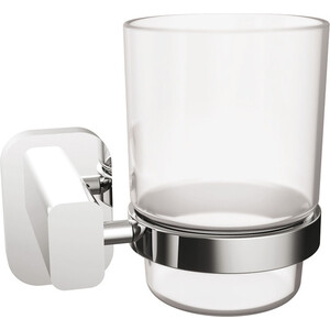 Стакан для ванны Kaiser Oval хром (KH-2045)
