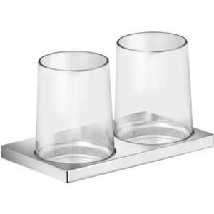 Стакан для ванны Keuco Edition 11 двойной (11151019000) держатель стаканой двойной keuco edition 11 11151019000