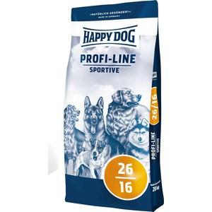 Сухой корм Happy Dog Profi-Line Sportive 26/16 с мясом птицы для взрослых собак умеренными нагрузками 20кг (02576)
