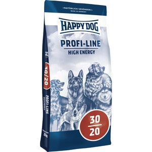 Сухой корм Happy Dog Profi-Line High Energy 30/20 с мясом птицы для взрослых собак высокой активностью 20кг (03160)