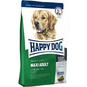 Сухой корм Happy Dog Supreme Fit & Well Maxi Adult 26kg+ с мясом птицы облегченный для собак крупных пород 15кг (60013)