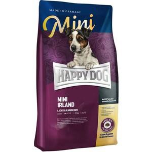 Сухой корм Happy Dog Mini Adult 1-10kg Irland Salmon & Rabbit с лососем и кроликом для взрослых собак мелких пород 1кг (60112) сухой корм happy dog supreme sensible adult 11kg irland salmon