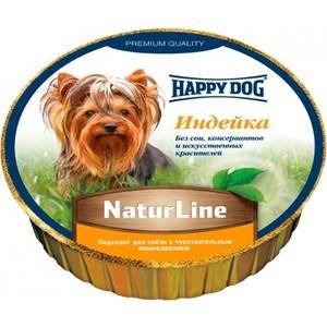 Консервы Happy Dog Natur Line индейка для собак 85г (71497) консервы happy dog natur line кролик для собак 85г 71499