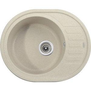 Кухонная мойка Kaiser Granit KGMO-6250 Sand Beige песочный мрамор (KGMO-6250-SB) weissgauff midas granit r песочный