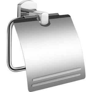 Держатель туалетной бумаги Milardo Neva с крышкой, хром (NEVSMC0M43)