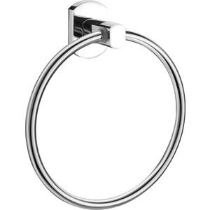 Полотенцедержатель Milardo Neva кольцо, хром (NEVSML0M52)