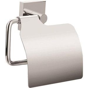 Держатель туалетной бумаги Milardo Amur с крышкой, хром (AMUSMC0M43)