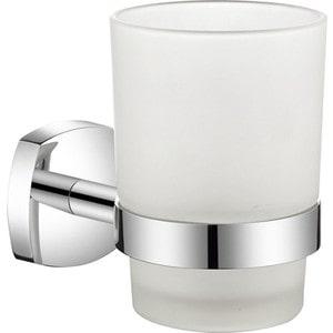Стакан для ванны Milardo Volga матовое стекло/хром (VOLSMG0M45)