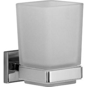 Стакан для ванны Milardo Labrador матовое стекло/хром (LABSMG0M45)