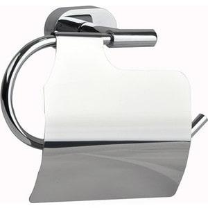 Держатель туалетной бумаги Milardo Solomon с крышкой, хром (SOLSMC0M43)