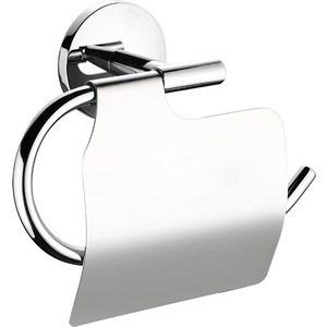 Держатель туалетной бумаги Milardo Cadiss с крышкой, хром (CADSMC0M43) milardo cadiss cadsb00m05 для кухонной мойки