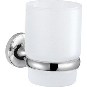 Стакан для ванны Milardo Magellan матовое стекло/хром (MAGSMG0M45) мыльница milardo solomon матовое стекло хром solsmg0m42