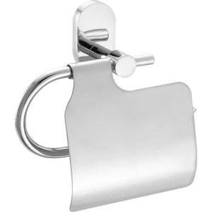 Держатель туалетной бумаги IDDIS Mirro Plus с крышкой, хром (MRPSBC0i43)