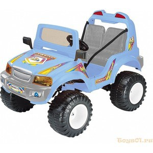 Электромобиль CHIEN TI OFF-ROADER (CT-885R 4x4) голубой