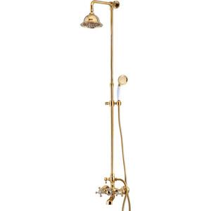 Душевая система Kaiser золото (90190-3 Gold) душевая система kaiser 90190 2 бронза