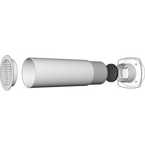 Клапан Era приточный D125 (12.5КП) вентилятор приточный