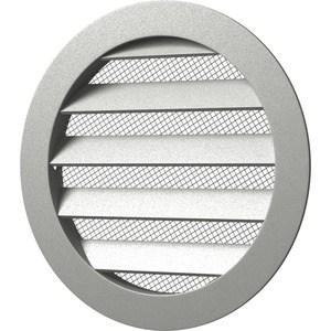 Решетка Era вентиляционная круглая D225 алюминиевая с фланцем D200 (20РКМ)
