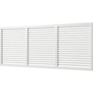 Решетка Era вентиляционная профиль ПВХ 600х1500 бел. (П60150Р)