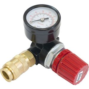 Регулятор давления Fubag RD-001 с манометром, внутренняя резьба, 1/4 (220001) редуктор давления fubag rd 001
