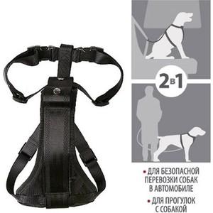 Шлейка GiGwi Pet Collars для автомобиля и переноски для больших собак (75177) поводок gigwi pet collars leads s с петлей для маленьких собак 75172