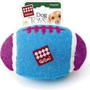 Игрушка GiGwi Dog Toys Squeaker мяч с пищалкой большой для собак (75272) игрушка gigwi dog toys squeaker кот с большой пищалкой для собак 75227