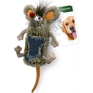 Игрушка GiGwi Dog Toys Squeaker мышь с большой пищалкой для собак (75288)