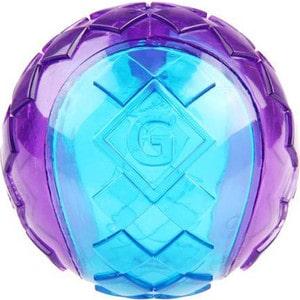 Игрушка GiGwi Ball Squeak мяч с пищалкой для собак 3шт (75326) фото