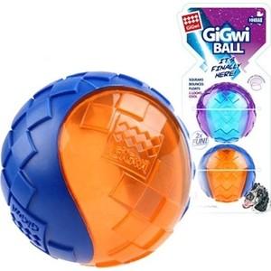 Игрушка GiGwi Ball Squeak игрушка мяч с пищалкой для собак 2шт (75328) фото