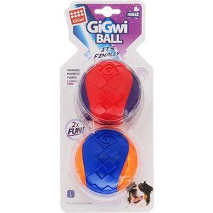Игрушка GiGwi Ball Squeak игрушка мяч с пищалкой для собак (75336)