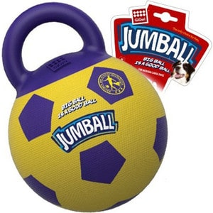 Игрушка GiGwi Jumball Big Ball Is a Good мяч с захватом для собак (75366)