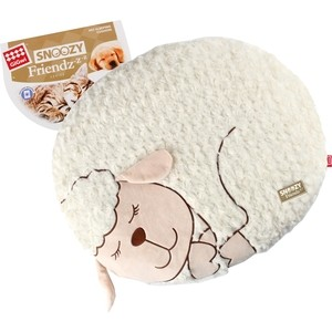Лежанка GiGwi Snoozy Friendz Warm&Comfort овечка для кошек и собак 55x40x6,4см (75114)