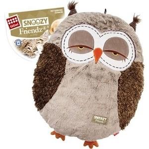 Лежанка GiGwi Snoozy Friendz Warm&Comfort лежанка сова для кошек и собак 57см (75356)