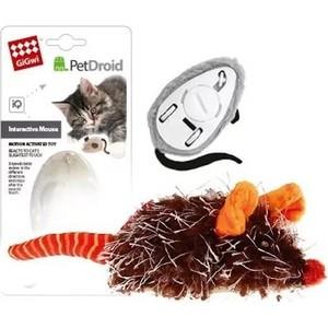 Игрушка GiGwi PetDroid Interactive Mouse Sound Chip Inside интерактивная мышка для кошек (75359)