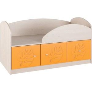 Кровать Compass МДМ-1К Оранжевый