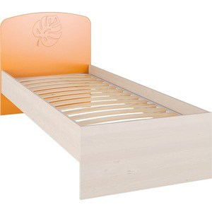 Кровать Compass МДМ-11К оранжевый luo qian оранжевый 42