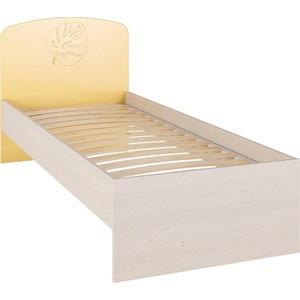 Кровать Compass МДМ-11К желтый